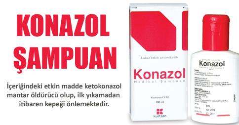 Konazol Kepek Şampuanı