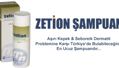 Zetion Kepek Şampuanı